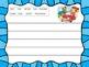 Winter/Holiday Journal Writing Center - 20 Journal Sheets!