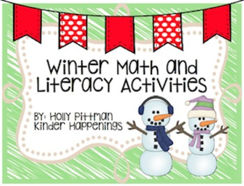 Winter/Holiday Math and Literacy Activities Bundle