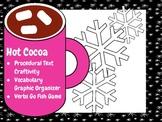 Winter/Holiday Procedural Text, Craftivity, Verb Game, Vocabulary