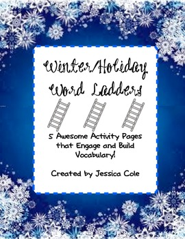 Winter/Holiday Word Ladders