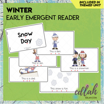 Winter/Snow Early Emergent Reader