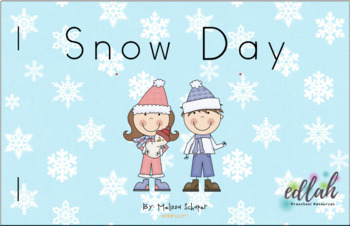 Winter/Snow Early Emergent Reader - Full Color Version