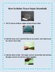 Winter/Snow Informational Text:  How to Make Tissue Paper