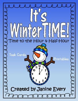 WinterTIME - Time to the Hour & Half-Hour
