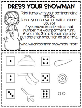 The First Day of Winter...Activities for the Primary Child!