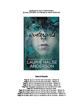 Wintergirls quizzes and reviews