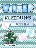 Winterkleidung  - Puzzeln