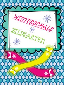 Winterschals - Bildkarten