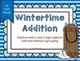 2 and 3 Digit Additon {Wintertime}