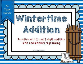 Wintertime 2 and 3 Digit Additon