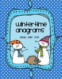 Wintertime Anagrams