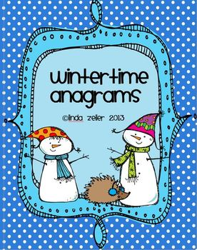 Wintertime Anagrams