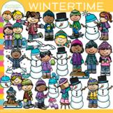 Wintertime Winter Clip Art