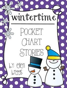 Wintertime Pocket Chart Stories