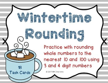 Rounding to Nearest 10 and 100 {Wintertime}