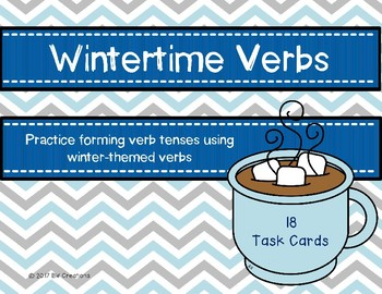 Verb Tenses {Wintertime}