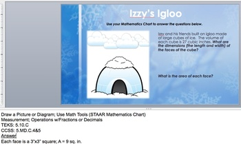 Wintertime WtW: 5th-Grade Measurement Story Problems