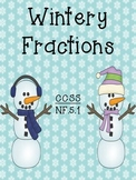 Wintery Fraction Mix-Interactive Bulletin Board