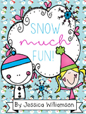 Wintery Fun math and literacy unit