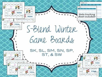 Winter Gameboards for Targeting S-Blends
