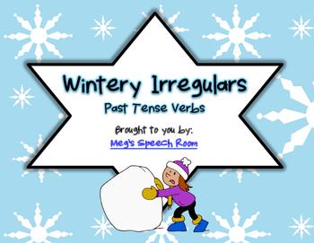 Wintery Irregulars: Past Tense Verbs