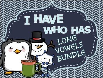Wintry Long Vowel Game Bundle