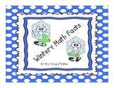 Wintery Math Facts