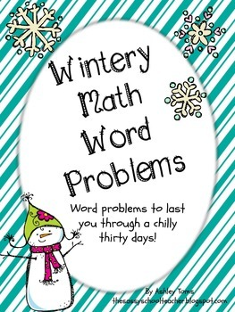 Wintery Math Word Problems