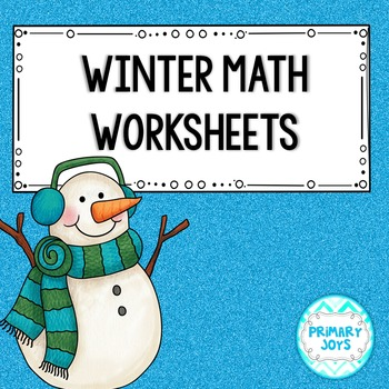 Math Worksheets: Winter - Second Grade