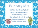 Wintery Mix: Write the Room Activities