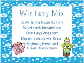 Wintery Mix: Write the Room Activities