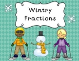 Fractions | Winter Fractions | Winter Fraction Activities