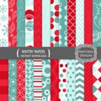 Wintry Paper Pack