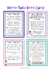 Wintry Tales - Word Problems - Math Center / Take-to-Desk Folder