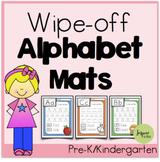 Wipe-off Alphabet Mats