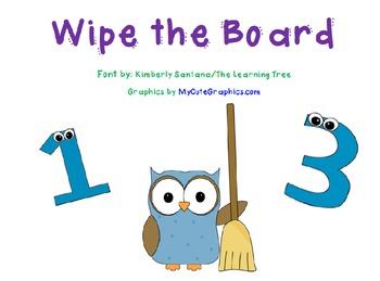 Wipe the Board Addition