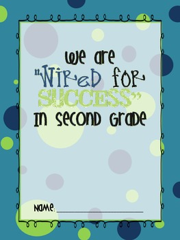 Wired For Success: A Technology Themed Classroom Pack! {Turquoise}