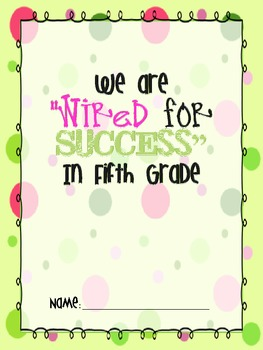 Wired for Success Binder Covers