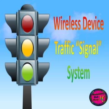 "Wireless Classroom ""Signal"" system poster and placement set"