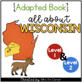 Wisconsin Adapted Books (Level 1 & Level 2) | Wisconsin State Symbols