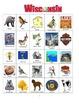 Wisconsin Bingo:  State Symbols and Popular Sites
