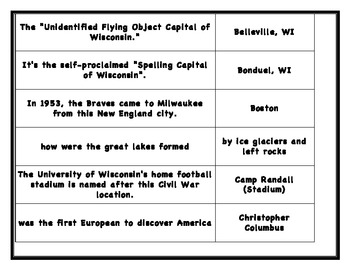 Wisconsin Board Game
