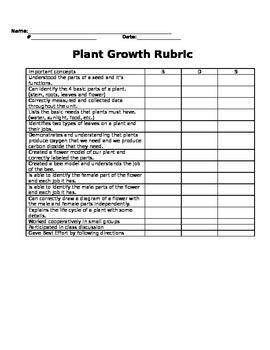 Wisconsin Fast Growing Brasica- Planting rubric