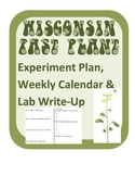 Wisconsin Fast Plants experiment design, data calendar and lab report