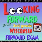 Wisconsin Forward Exam Prep - 10 Days of Review for 3rd Grade MATH - NO PREP!