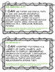 """Wisconsin Geography Standards Bulletin Board Display, """"I Can"""" Cards & More"""