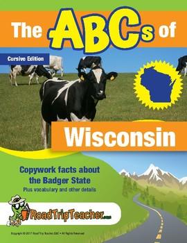 Cursive Printables: Wisconsin