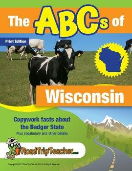 Wisconsin Handwriting Printables - Print Edition