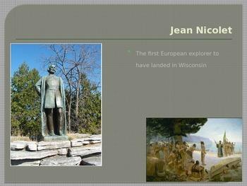 Wisconsin History Vocabulary Power Point (English)