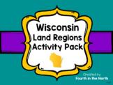 Wisconsin Land Regions Activity Pack